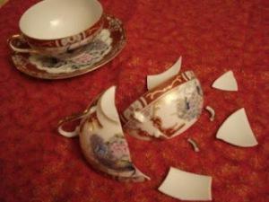 shattered teacup